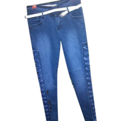 Loose-Fit Stretchable Ladies Jeans