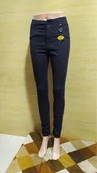 High Waist Denim Jeans for Women