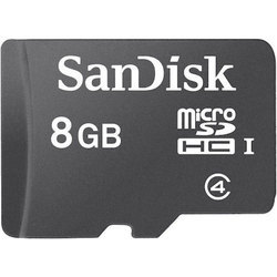 Sandisk 8GB Memory Card, MP3 Player And Tablet