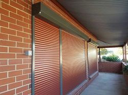 Manual Operated Rolling Shutter