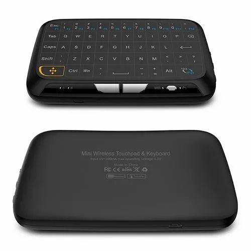 caf73d20e8b Speed H18 2.4Ghz Wireless Mini Keyboard with Touchpad Mouse, Whole Panel  Touchpad