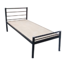 Single Hostel Metal Bed