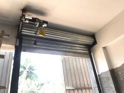 Single Phase GI Rolling Shutter