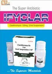 Clarithromycin 125mg/5ml