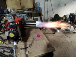 Wolf LPG Gas Fired Burner, Model Name/Number: Wg-120 A, Size: 10 To 4000 Kw