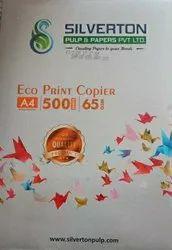 White Silverton Copier 65 GSM, For Print, GSM: Less Than 80