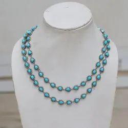 Gemstone Necklace Diamond Necklace