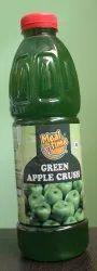 Meal Time Green Apple Crush, Packaging Type: Bottle, 1000 ml