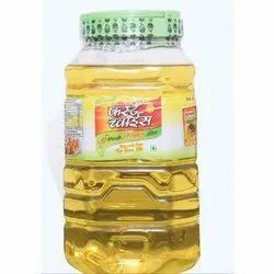 5 Litre First Choice Soybean Refined Oil Jar