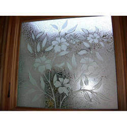 Transparent Decorative Window Glass