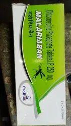 Anti Malaria Tablets Malariaban Tablet