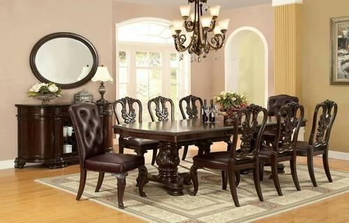 Natural 4x8 Elegant Classic Dining Room Sets, Rs 110000 /piece | ID ...