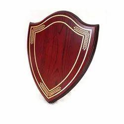 Shield Shape Certificate Plaque