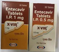 X-VIR 1 mg and 0.5 mg (Entecavir)