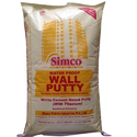 Simco Plus Water Proof White Wall Care Putty, Packing: 40 Kg
