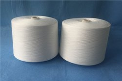 White Plain 2/18 PV 70/30 Grey Cone Yarn 18/2, For Textile Industry