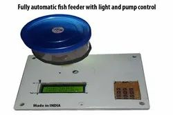 Fully Automatic Fish Feeder With Light And Pump Control For Aquarium (Made In India)