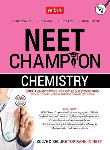 Chemistry Champion Book For Neet
