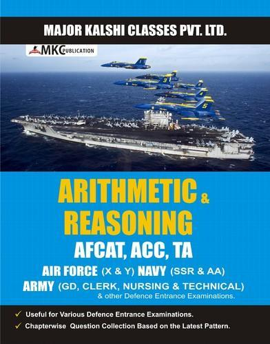 AF & Navy Books - Arithmetic & Reasoning School / College / Coaching