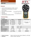 HTC Digital Anemometer