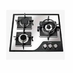 Black,Silver Kkolar K 603 MR Cooktop, Size: 600x520x65 Mm