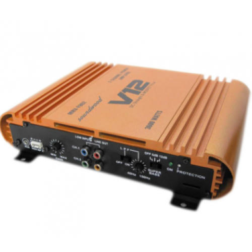 v12 3600w 2 channel high performance amplifier rs 2200 piece id