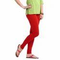 Ladies Red Legging