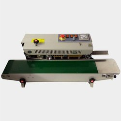continious band sealer vertical MS model