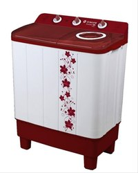 White, Red Semi-Automatic Singer Maxiclean 7000 Washing Machine, Capacity: 7.0 Kg