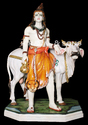 Lord Shiva With Nandi