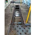Free Flow Conveyor With Pallet Transfer