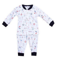 Hosiery Kids Full Sleeves Printed Baby Suit