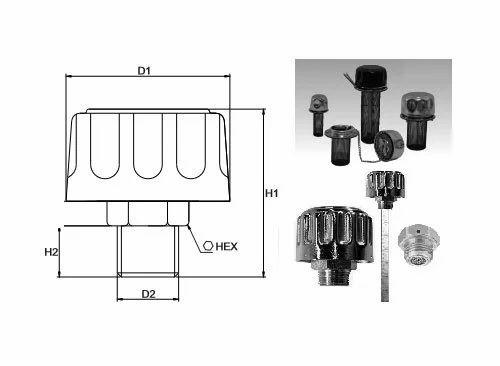 Tank Breathers - Dip Rod And Dip Sticks Manufacturer from Mumbai