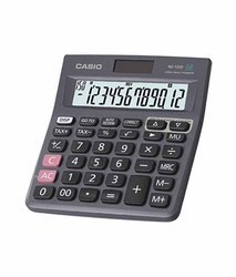 Black Trendy Casio Electronic Calculator
