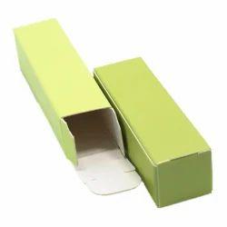 Green Plain Packaging Box