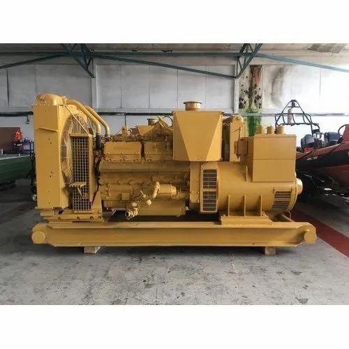 62.5 kVA Used Caterpillar Diesel Genset, Voltage: 110 to 480V