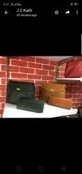 Fashionable Brown Leather Women Hand Bag