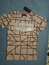 XXL And Medium Plain, Printed Men's T Shirt