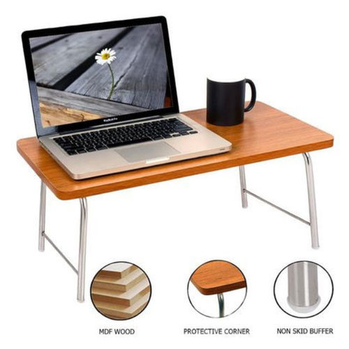 Wudore Brown Office Laptop Table