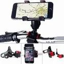 Motorcycle Bicycle MTB Bike Mobile Phone Cradle Adjustable Handlebar Support Stand