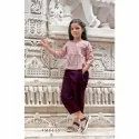 Girls Western Wear Top and Pant