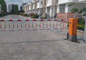 Automatic Boom Barrier With Fence