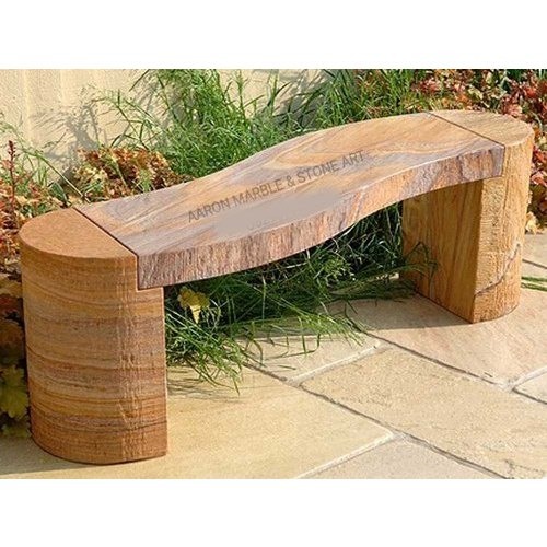 Amazing Khatu Sandstone Garden Bench Bralicious Painted Fabric Chair Ideas Braliciousco