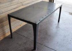 Black Mild Steel Metal Table