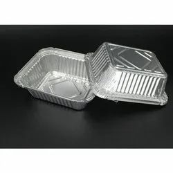 Aluminium Silver Foil Containers, For packaging