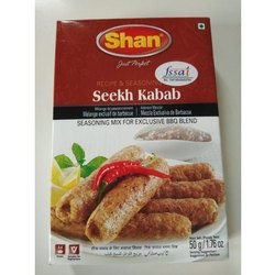 Shan Seekh Kabab Masala, Packaging Size: 50 g
