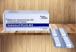Glimepride 2 mg & Metformin 1000 mg SR