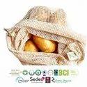 GOTS Certified Organic Cotton Mesh Bags