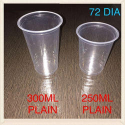 Plain Disposable Glass