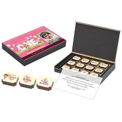 Heart Black,light brown Birthday Announcements Chocolate Gift, Dark, Box Capacity: 425 gm